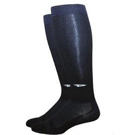 DeFeet DeFeet DeCompressor Long Socks Blk Med