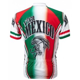 World Jerseys Viva Mexico Jersey Red/Wht/Grn Med