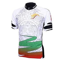 World Jerseys Mexico Aztec Jersey Red/Wht/Grn Sml
