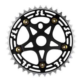 SE Bikes SE One Piece Alloy Chainring & Spider 39T