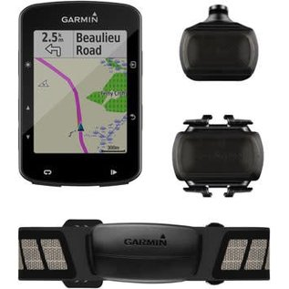 Garmin Garmin Edge 520 Plus GPS Cycling Computer Speed/Cadence Bundle: Black