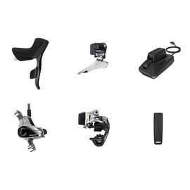 SRAM Sram Group Kit E-Tap 2x11 Hydraulic Disc Brake, Battery Charger & Cord/USB Stick