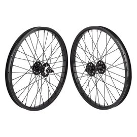 SE Bikes SE 20x1.75 Wheelset (406x24) 36h 1s FW Sealed Bearings 3/8110mm Blk