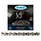 KMC KMC X9 Chain 116L Silver/Gry