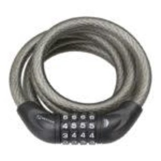 Serfas 5FT X 12 MM BRAIDED CABLE COMBINATION - NO BRACKET
