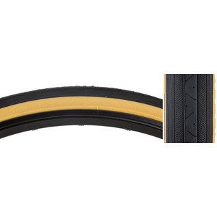 Sunlite Sunlite Raised Road Tire 27x1-1/4 Blk/Gum Wire