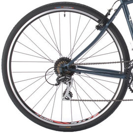 KHS Bicycles KHS Hybrid Rear Wheel Blk 700c 8/9 Cass Blk