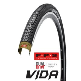 Serfas Serfas Vida Hybrid 700x38c Tire Reflective