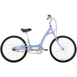 KHS Bicycles Manhattan Cruisers Smoothie  3-Speed Placid Blue 2019