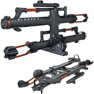 Kuat Kuat NV 2.0 Hitch Rack 2-Bike 2 Receiver Metallic Gray/Orange