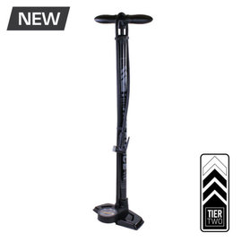 Serfas Serfas FP-T2 Air Force Tier Two Floor Pump Grey