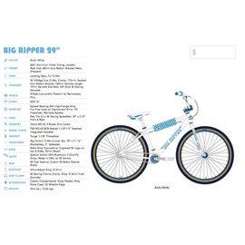 SE Bikes SE Big Ripper 2020 Artic White