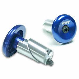 Odi ODI Aluminum Handlebar Plugs Blue