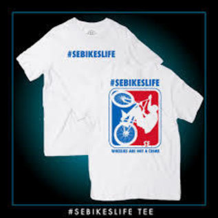 SE Bikes SE Bikes Life Shirt White