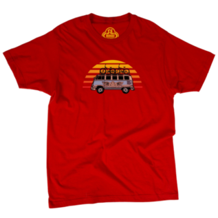 SE Bikes SE Vee Dub Shirt Red