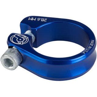 Profile Racing Profile Racing Slim Jim Seatpost Clamp, 28.6mm Blue