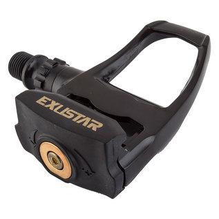 """Exustar Exustar PR70 Pedals Single Sided Clipless Plastic, 9/16"""", Black"""