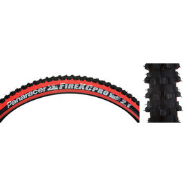 Panaracer Panaracer Fire XC Pro Tire - 26 x 2.1 Clincher Wire Black/Red
