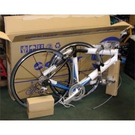 Pack bike for shipping (includes box and materials)