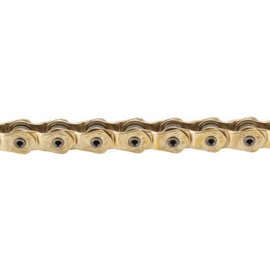 KMC KMC HL1L Wide Chain Single Speed Gold