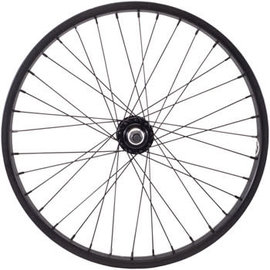 "Salt Everest Front Wheel - 20"", 3/8"" x 100mm, Rim Brake, Black, Clincher"