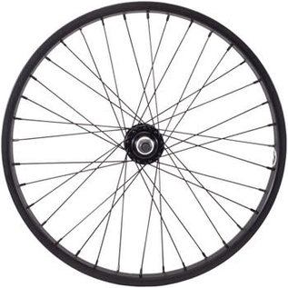 "Salt Everest Front Wheel - 20"", 3/8"" x 100mm, Rim Brake, Black, Clincher"
