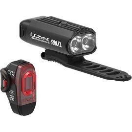 Lezyne Lezyne Micro Drive 600XL / KTV Pro Pair Black
