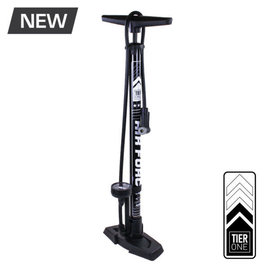 Serfas Serfas FP-T1BK Air Force Tier One Floor Pump Black