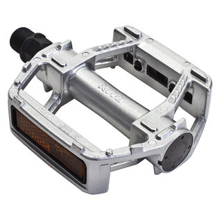 MKS MKS RMX Alloy Platfrom Pedals Silver 9/16""