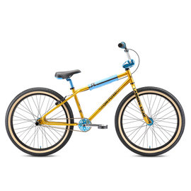 SE Bikes SE OM Flyer 26 2021 Gold/Blue