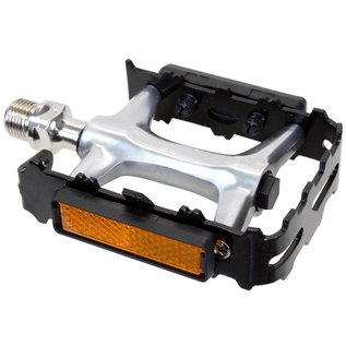 """Sunlite Sunlite MTB Forged Alloy Pedals 9/16""""Blk/Sil"""