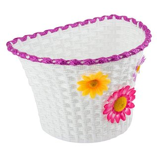 Sunlite Sunlite Classic Flower Large Basket Wht