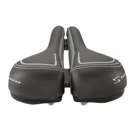 Serfas MEN'S PERFORMANCE RX SADDLE - LEATHER/CHROMOLY RAILS
