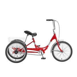 Sun Bicycles Sun Bicycles Traditional Trike 20'' Red