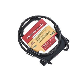 Blackburn Blackburn Local U-lock Blk Cable Combo