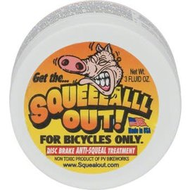 Squeal Out Squeal Out Anti-Squeal Disc Brake Paste: 3oz Jar