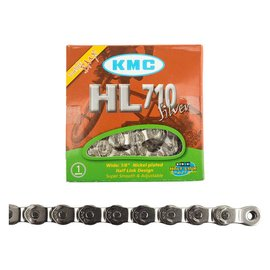 KMC KMC Chain 1/2x1/8 HL710 Slv 1/2 Link