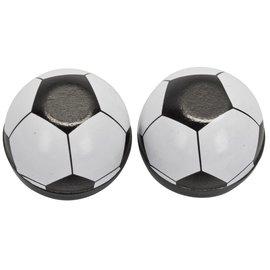 Trik Topz Trik Topz Soccer Ball Valve Caps Blk/Wht