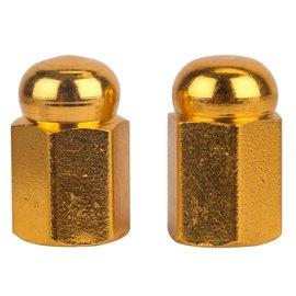 Trik Topz Trik Topz Hex Dome Valve Caps Gold