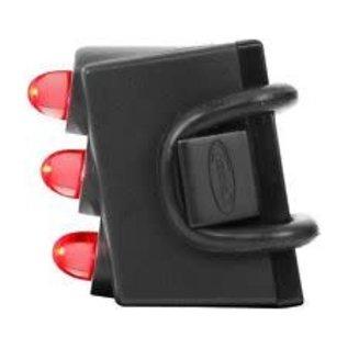 Rav X Rav X Mega Lumi 3R USB Rear Light Blk