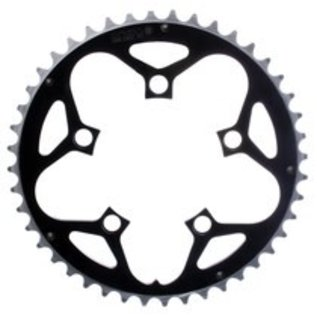 Rocket Rings Rocket Rings 94mm 44T Chainring Blk 5 Hole