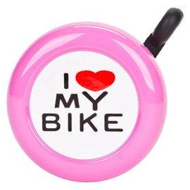 Sunlite Sunlite I Love My Bike Bell Pnk