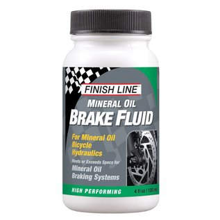Finish Line Brake Fluid Mineral Oil 4 Oz