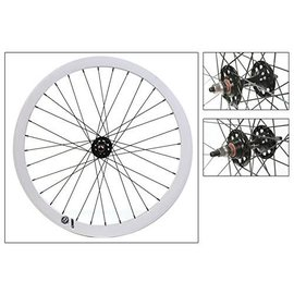 Origin 8 Origin 8 Fixie Front Wheel Bolt-On SS FX/FW Blk/Wht 32H