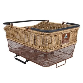 Axiom Axiom Market Wicker Basket Rear Brn