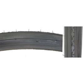 Sunlite Sunlite 27x1-1/4 Raised Road Tire Blk Wire
