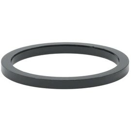 "WHEEL MASTER Wheels Mfg. 2.5mm 1-1/8"" Headset Spacer Blk each"