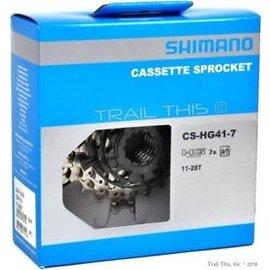 Shimano Shimano HG41 Cassette 7 spd 11-28t
