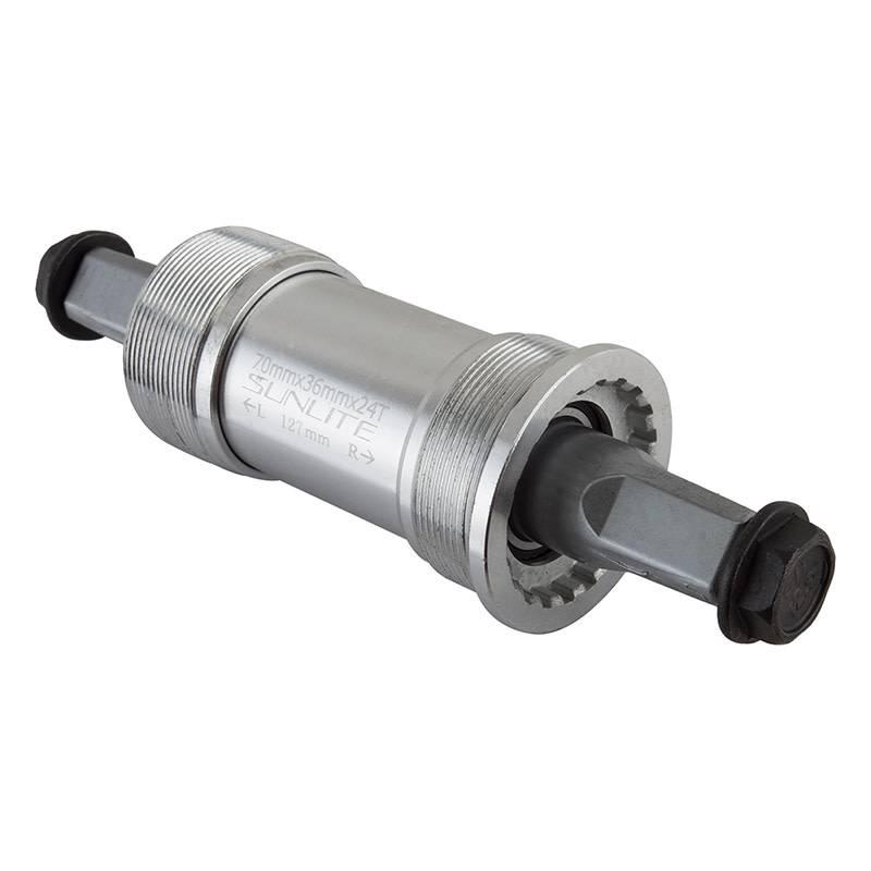 Sunlite Bottom Bracket Set Sl55 70X127 Sq Aly-Cup Itl Sealed Brg