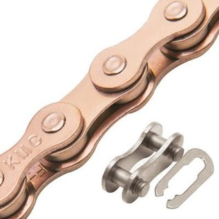 """KMC KMC Z610HX Chain 3/32"""" Copper 113L"""